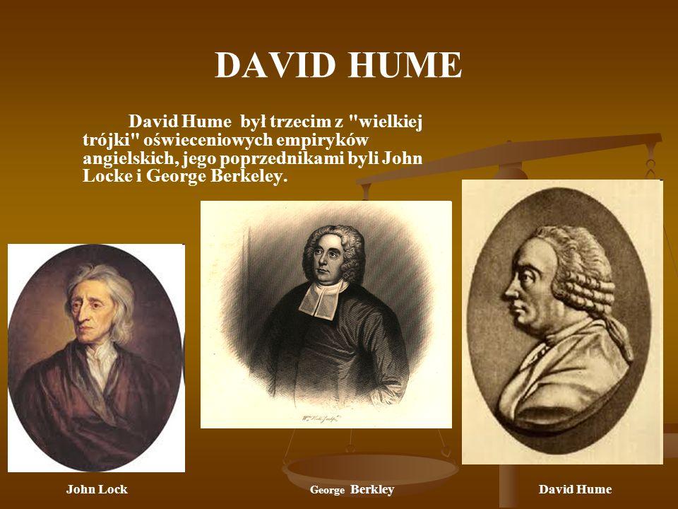 John Lock George Berkley David Hume