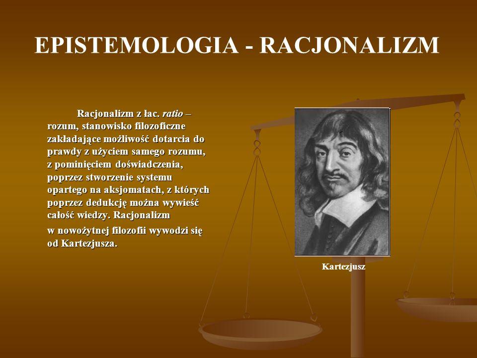 EPISTEMOLOGIA - RACJONALIZM