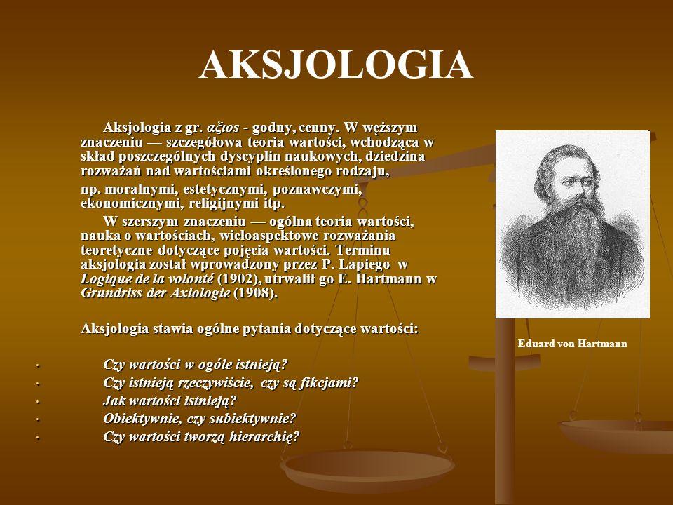 AKSJOLOGIA