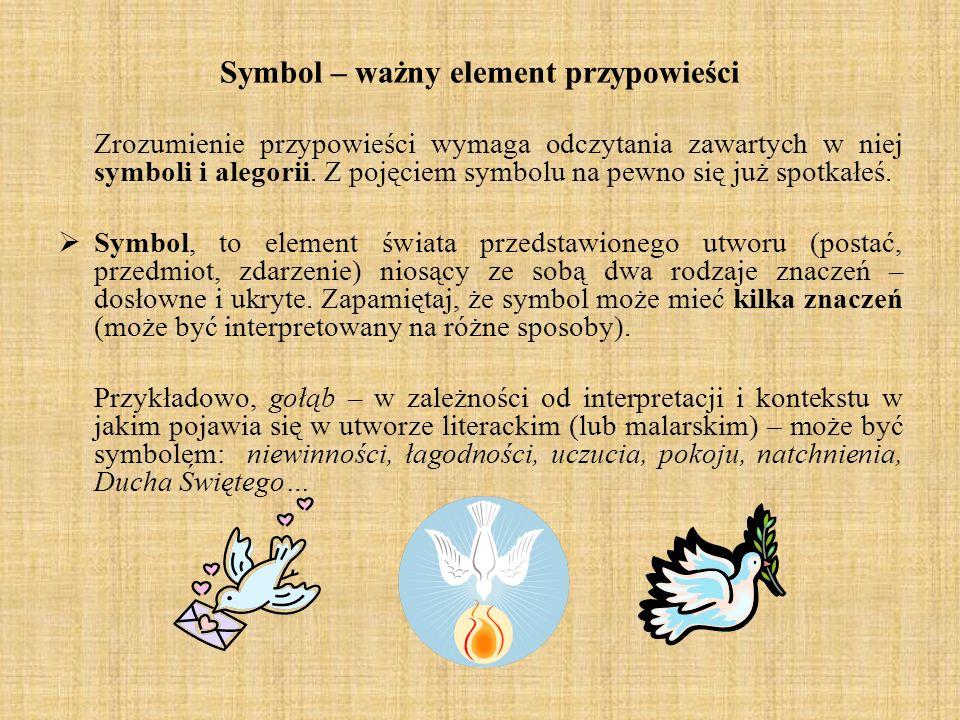 Symbol – ważny element przypowieści