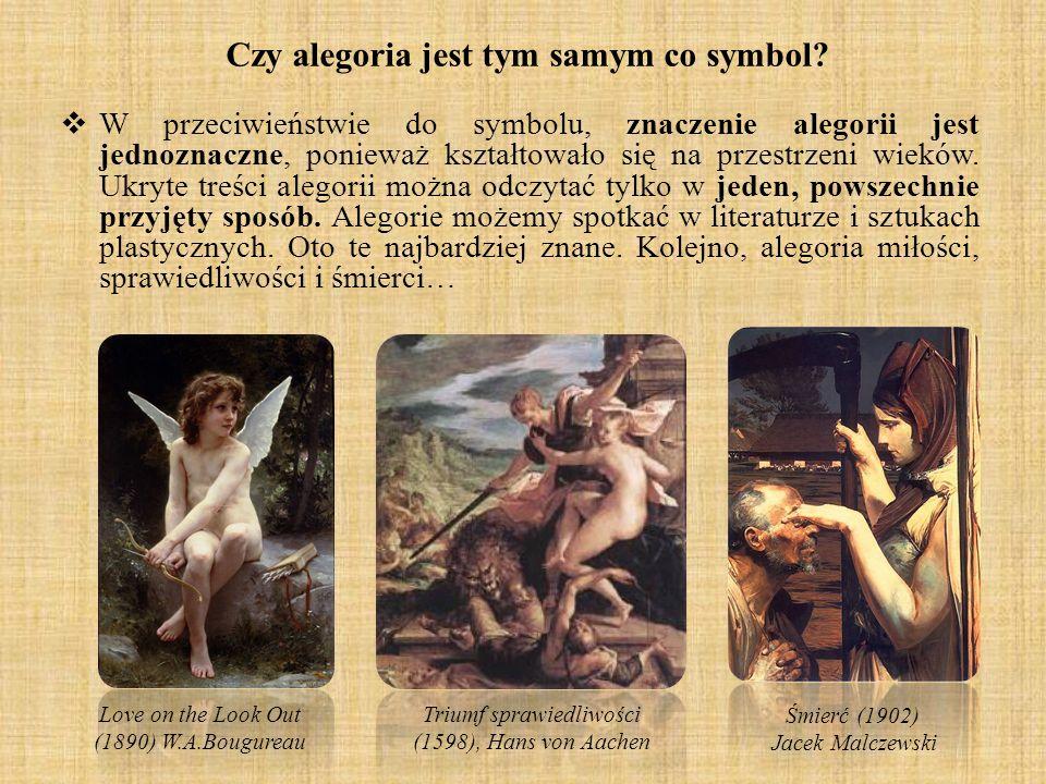Czy alegoria jest tym samym co symbol