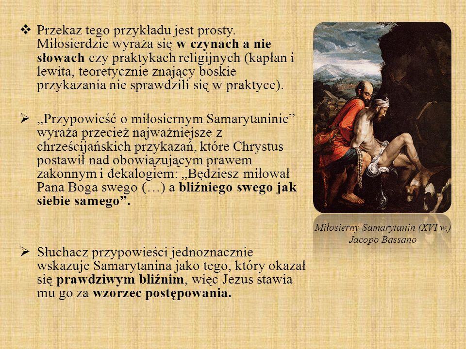 Miłosierny Samarytanin (XVI w.)