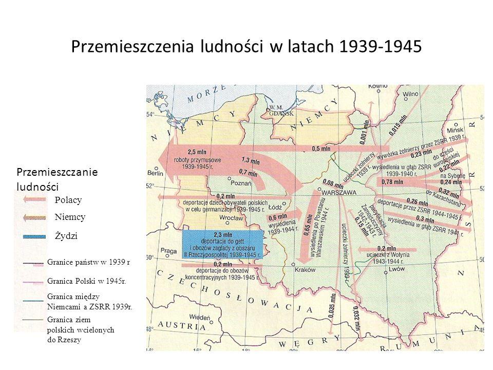 Przemieszczenia ludności w latach 1939-1945