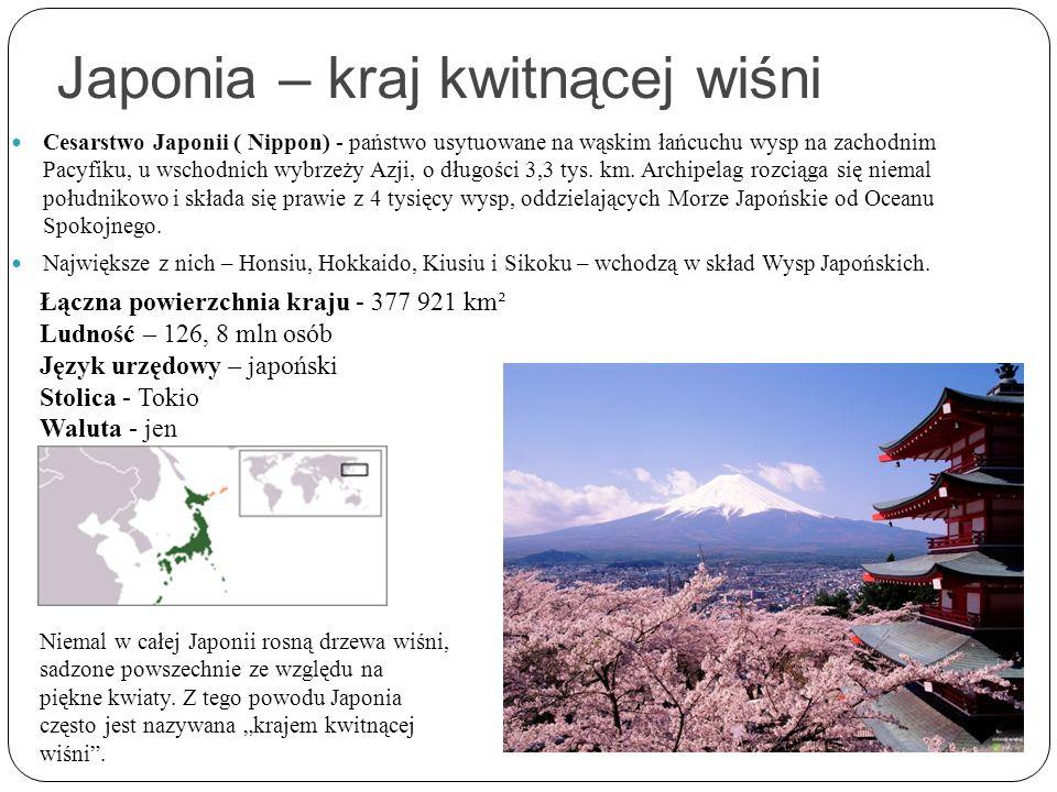 Japonia – kraj kwitnącej wiśni