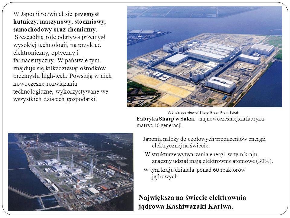 Największa na świecie elektrownia jądrowa Kashiwazaki Kariwa.