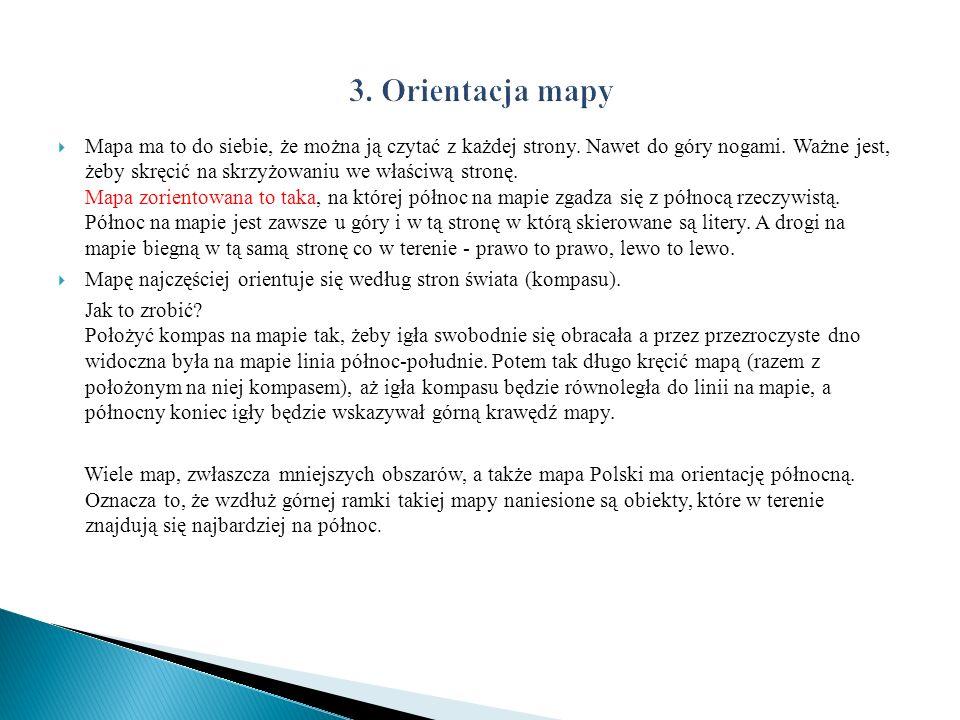 3. Orientacja mapy
