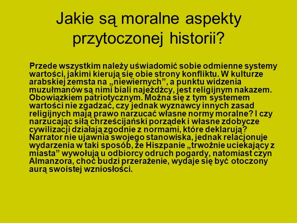 Jakie są moralne aspekty przytoczonej historii