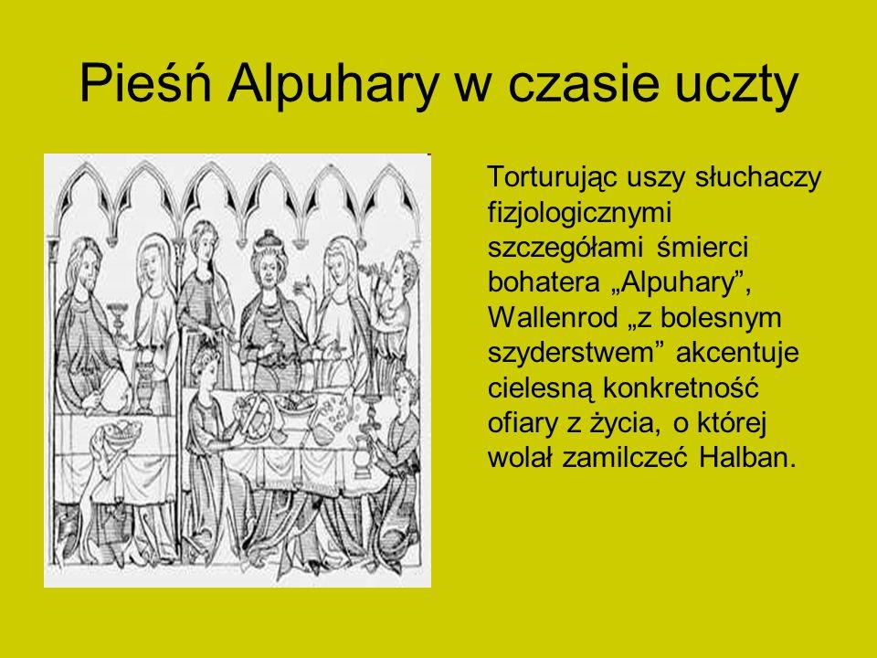 Pieśń Alpuhary w czasie uczty