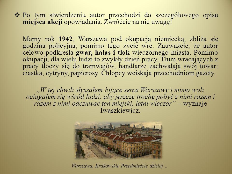 Warszawa, Krakowskie Przedmieście dzisiaj…