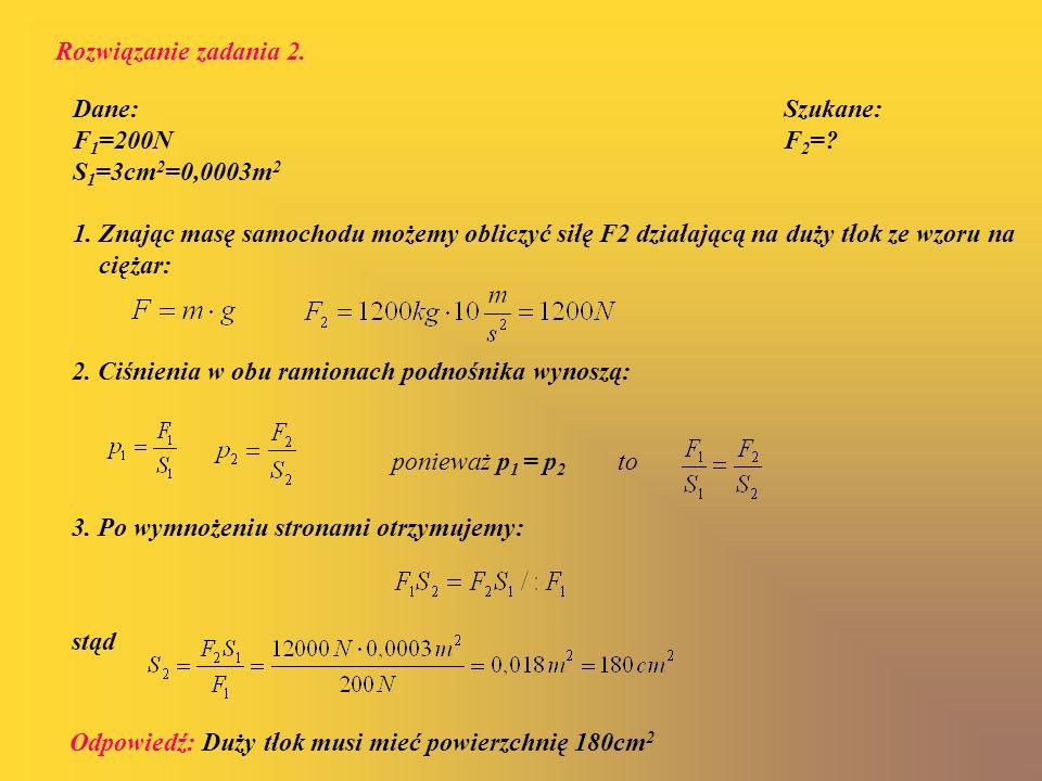 Rozwiązanie zadania 2.