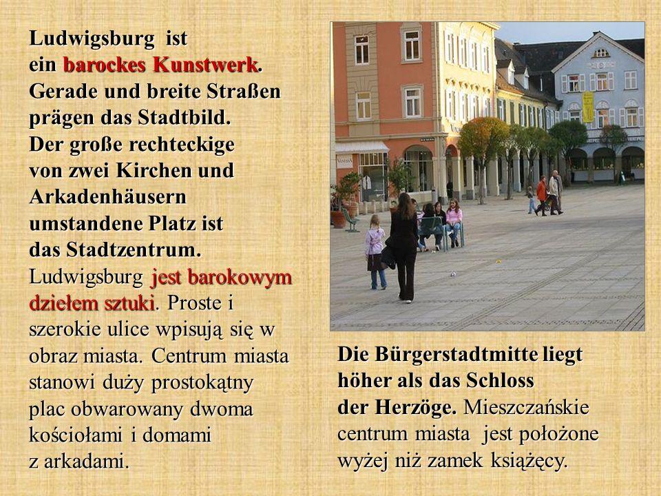 Ludwigsburg ist ein barockes Kunstwerk