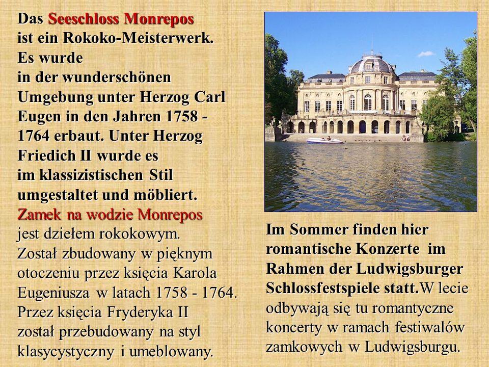 Das Seeschloss Monrepos ist ein Rokoko-Meisterwerk