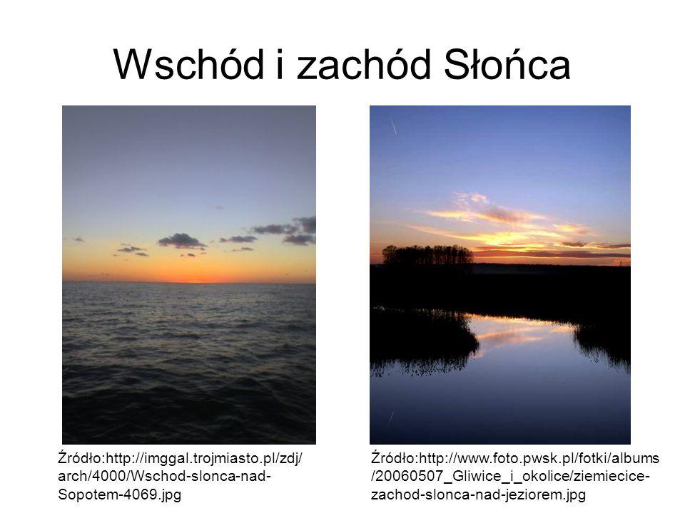 Wschód i zachód Słońca Źródło:http://imggal.trojmiasto.pl/zdj/arch/4000/Wschod-slonca-nad-Sopotem-4069.jpg.
