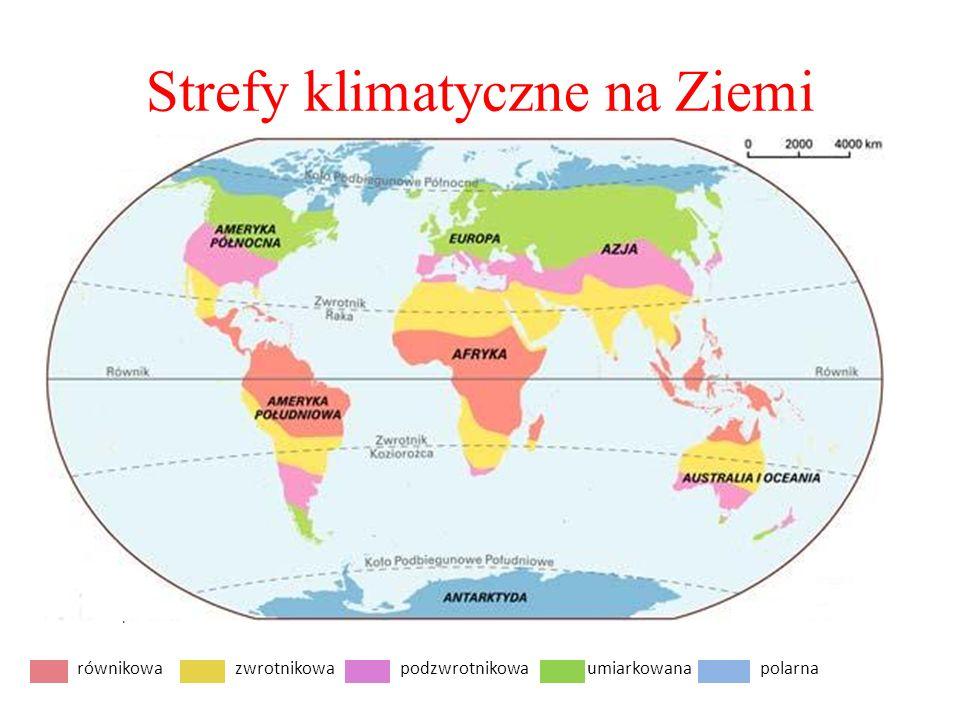 Strefy klimatyczne na Ziemi