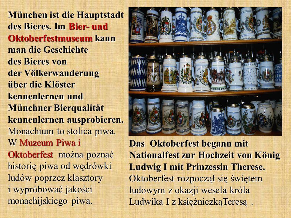 München ist die Hauptstadt des Bieres