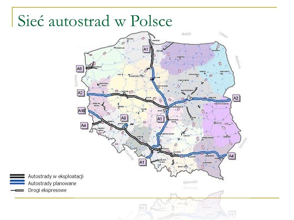 Sieć autostrad w Polsce