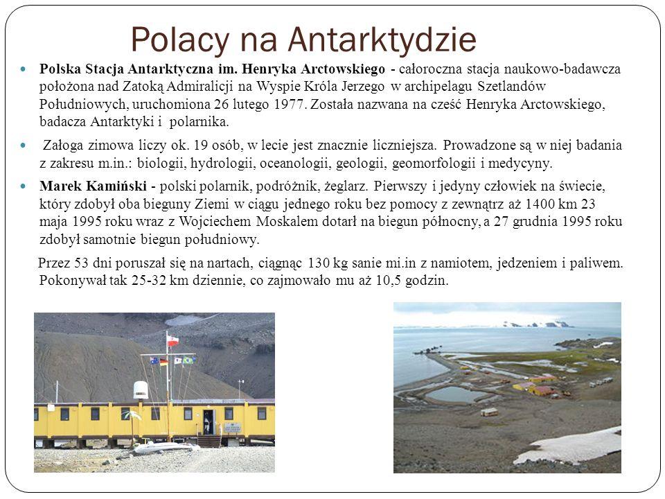 Polacy na Antarktydzie