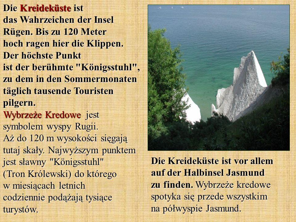 Die Kreideküste ist das Wahrzeichen der Insel Rügen