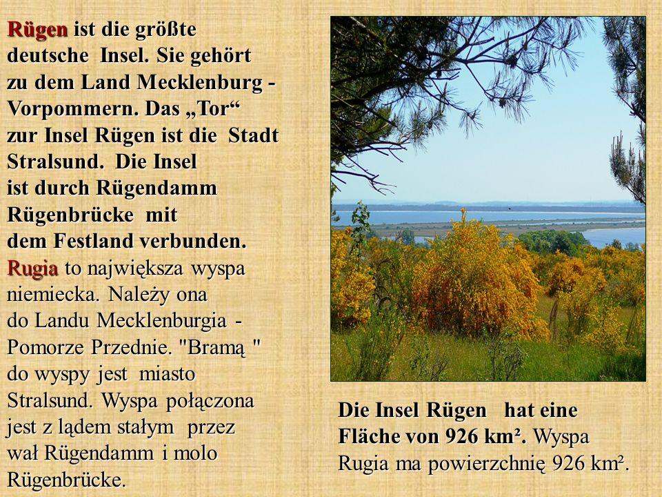 Rügen ist die größte deutsche Insel