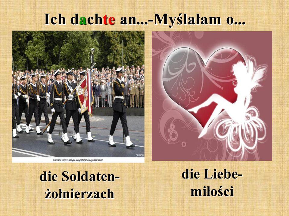 die Soldaten- żołnierzach