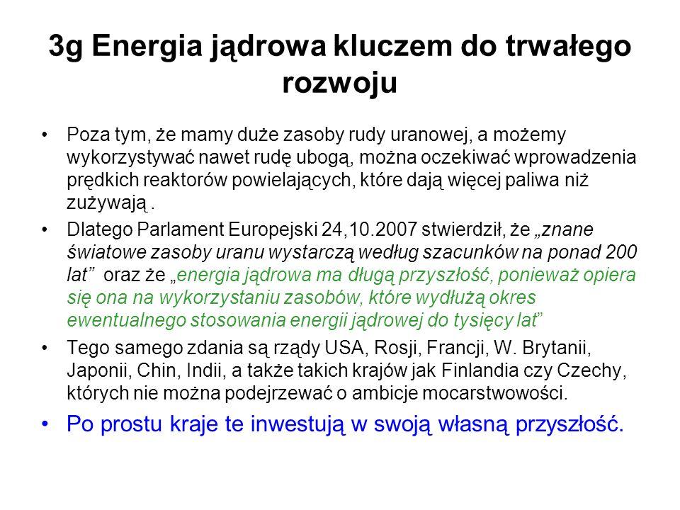 3g Energia jądrowa kluczem do trwałego rozwoju