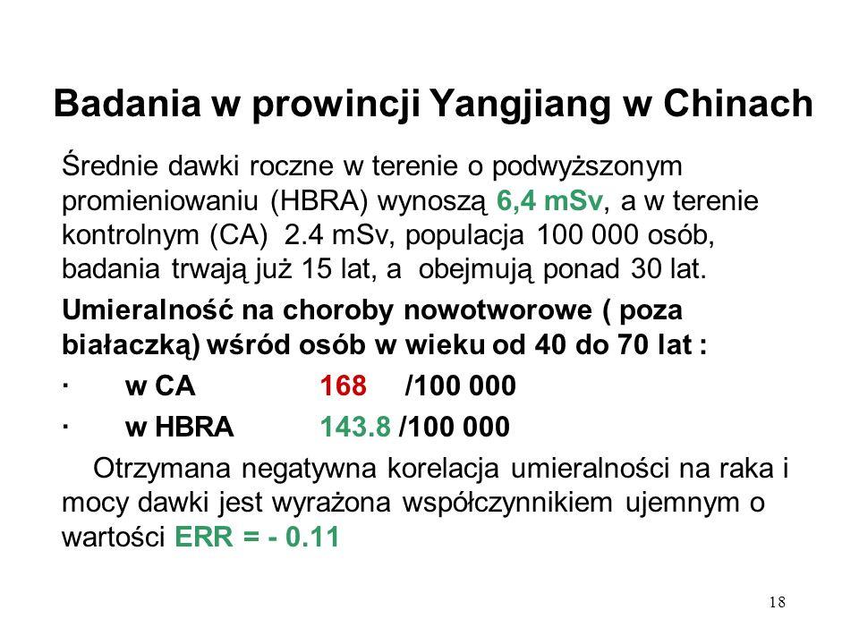 Badania w prowincji Yangjiang w Chinach