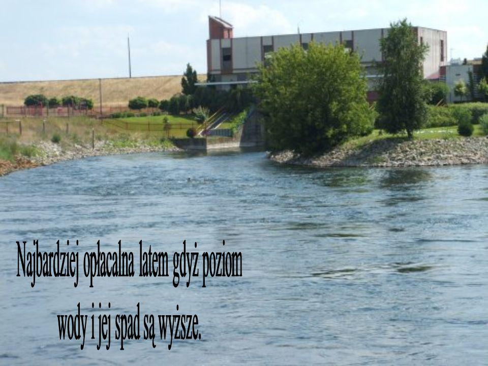 Najbardziej opłacalna latem gdyż poziom wody i jej spad są wyższe.