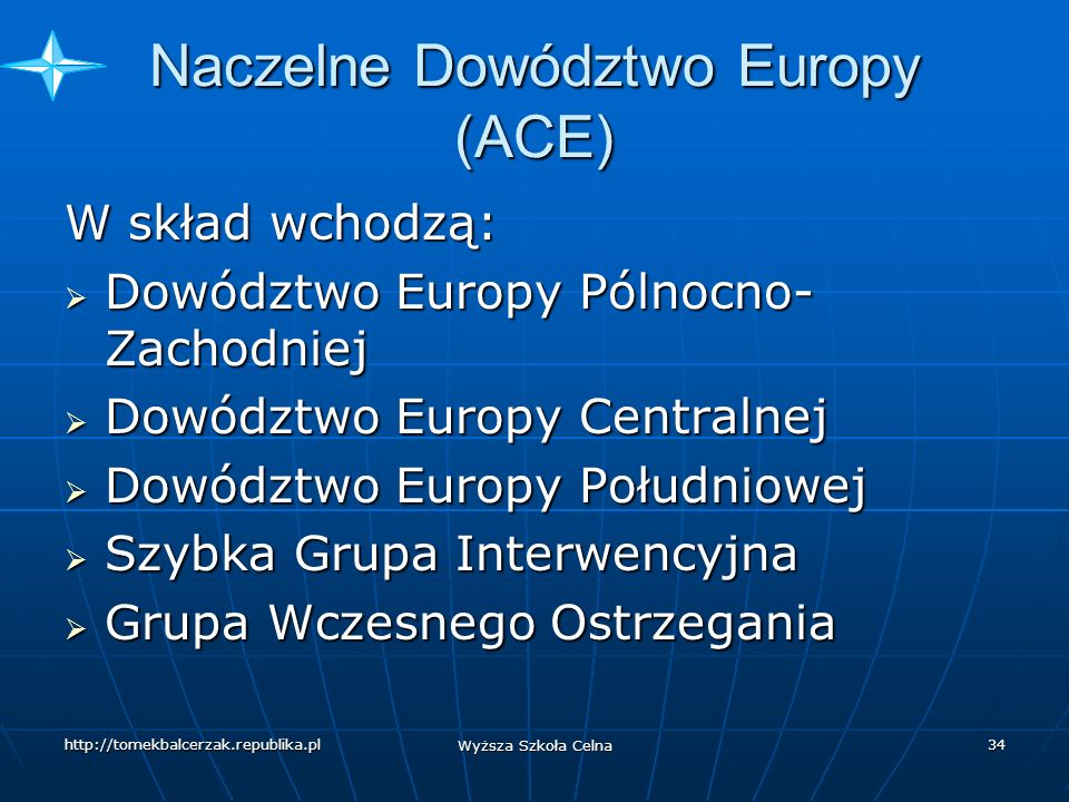 Naczelne Dowództwo Europy (ACE)