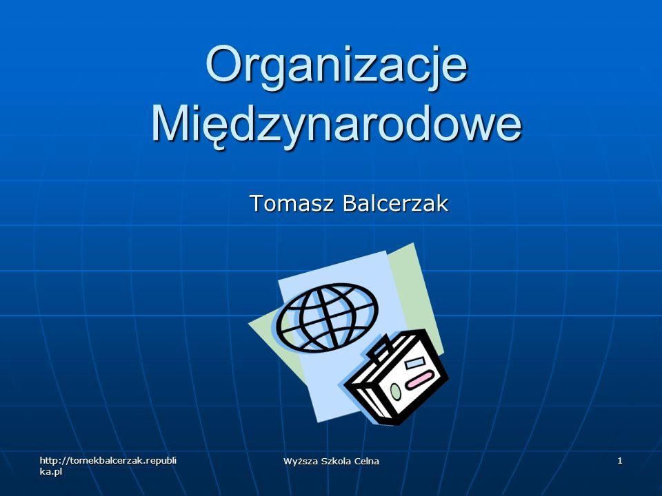 Organizacje Międzynarodowe