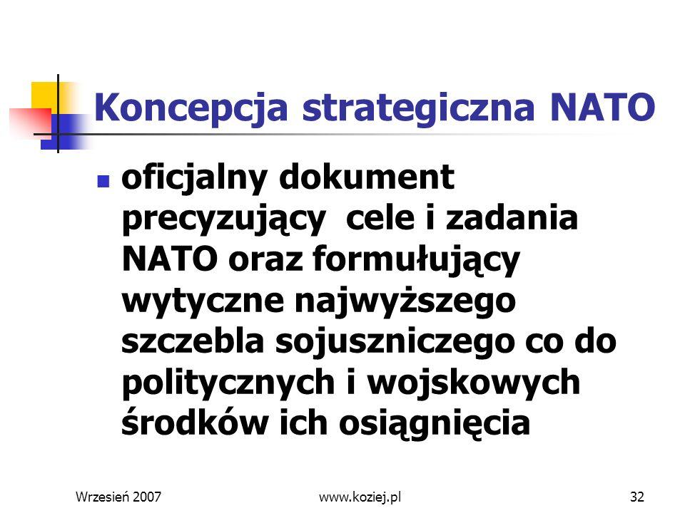 Koncepcja strategiczna NATO