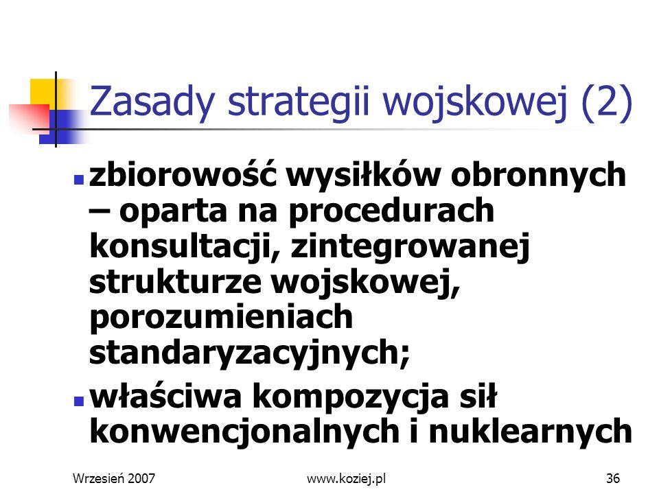 Zasady strategii wojskowej (2)