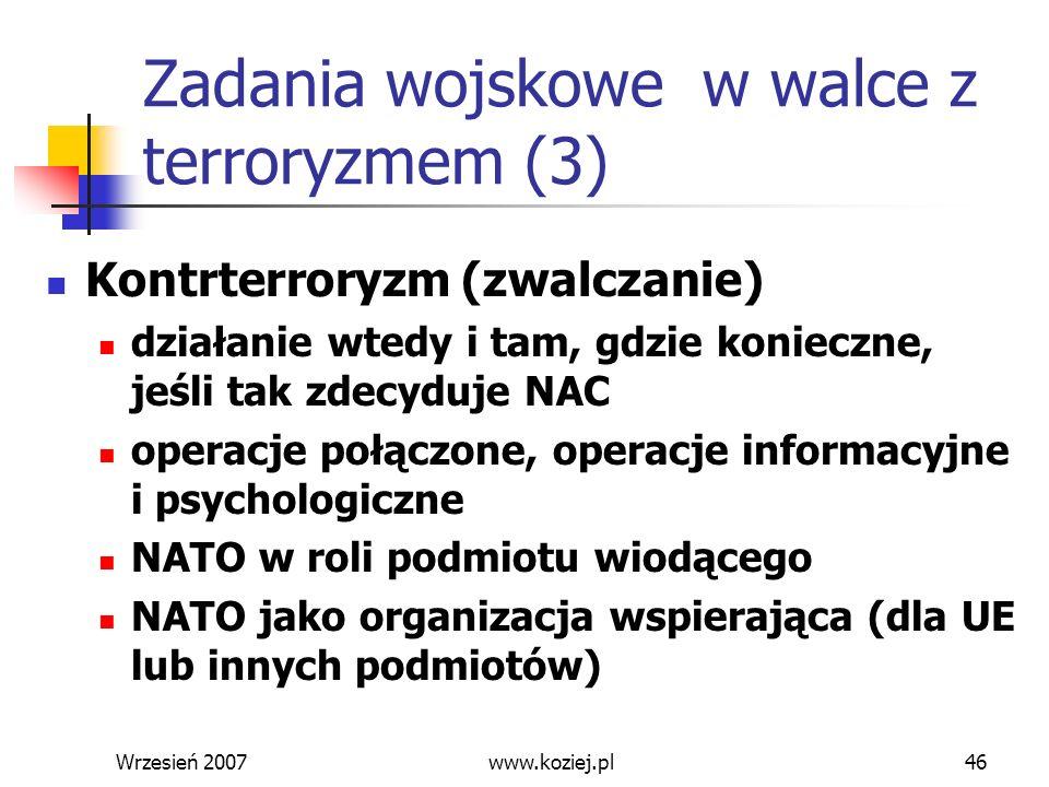 Zadania wojskowe w walce z terroryzmem (3)