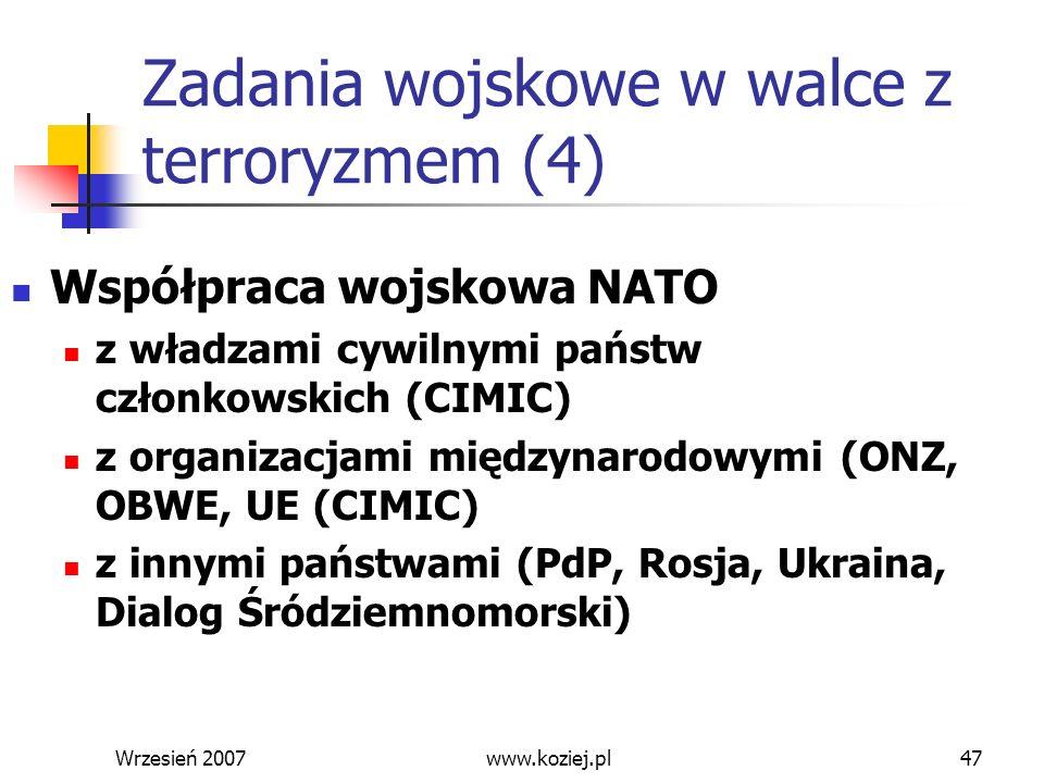 Zadania wojskowe w walce z terroryzmem (4)