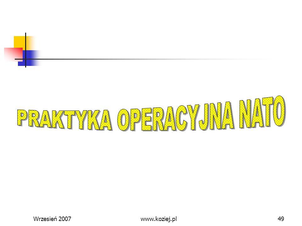 PRAKTYKA OPERACYJNA NATO