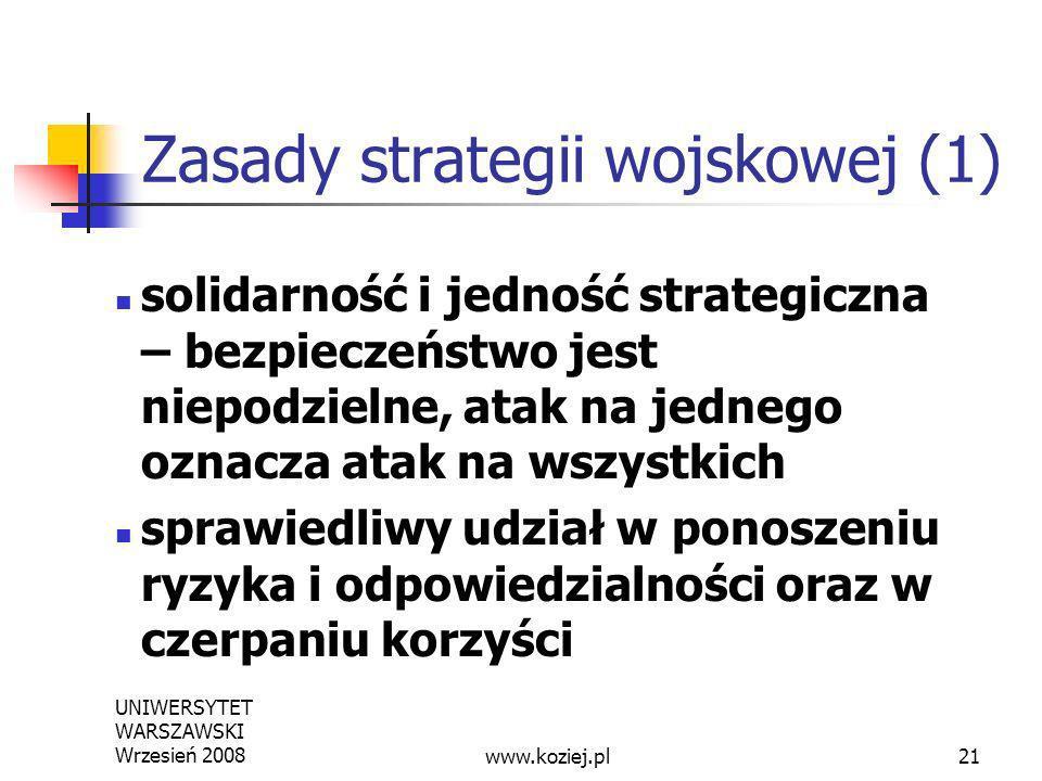 Zasady strategii wojskowej (1)