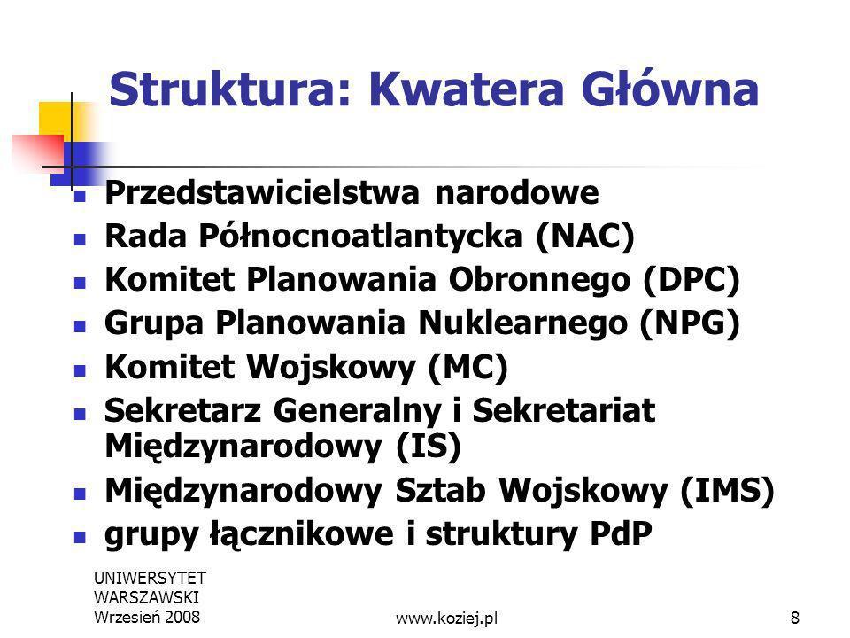 Struktura: Kwatera Główna