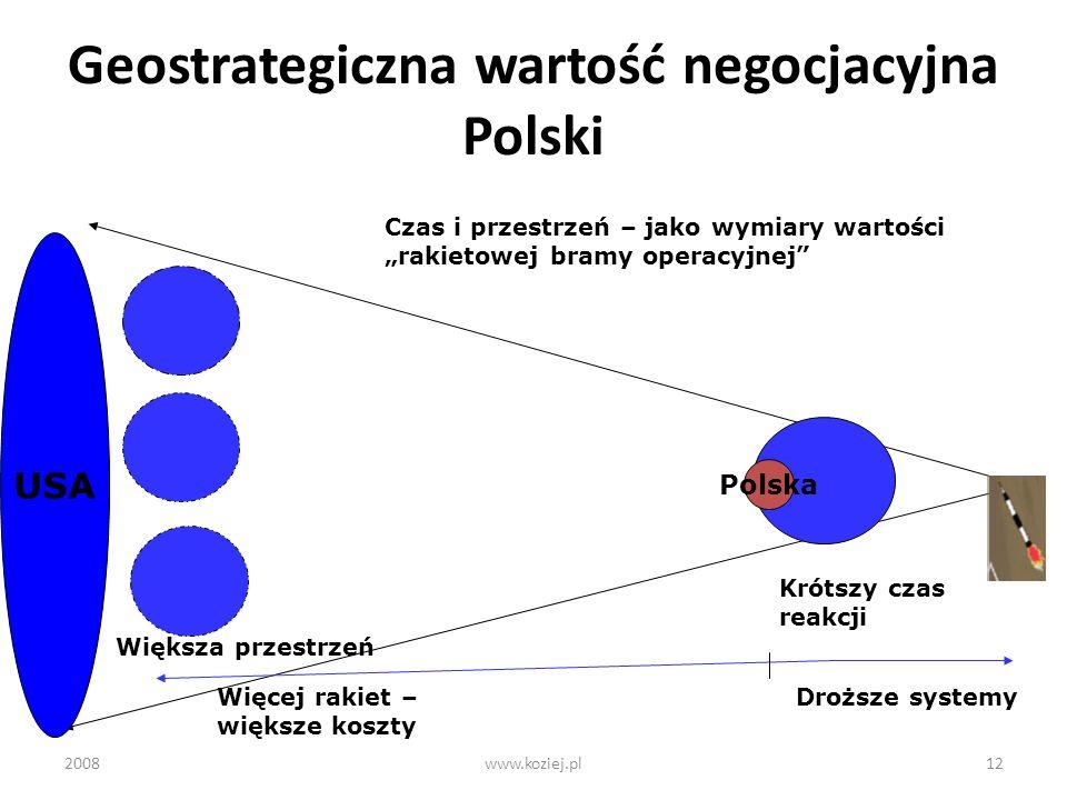 Geostrategiczna wartość negocjacyjna Polski