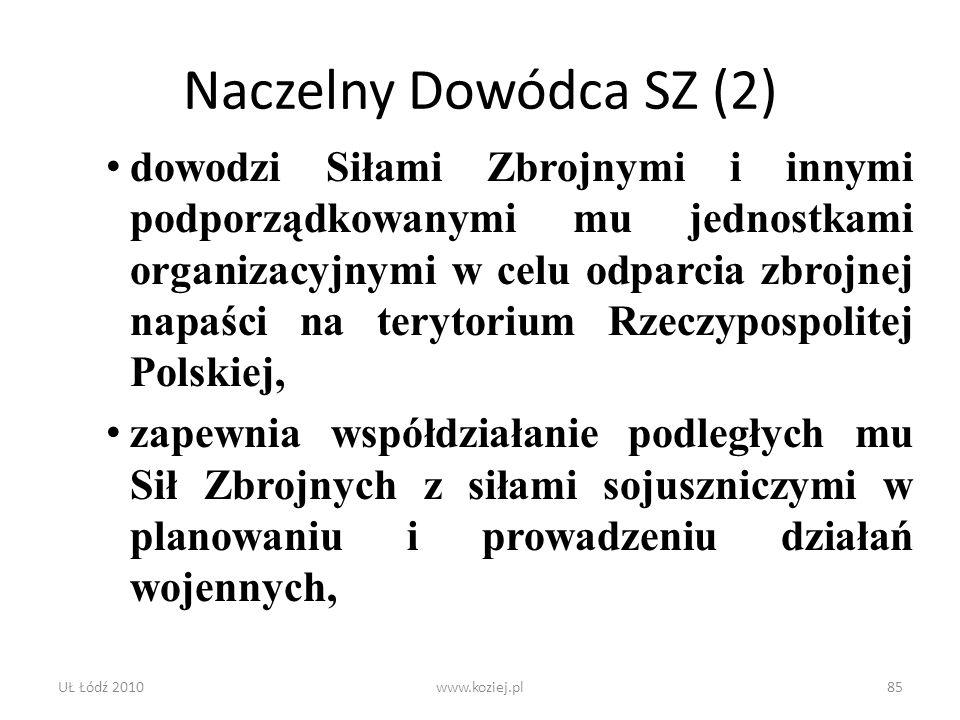 Naczelny Dowódca SZ (2)