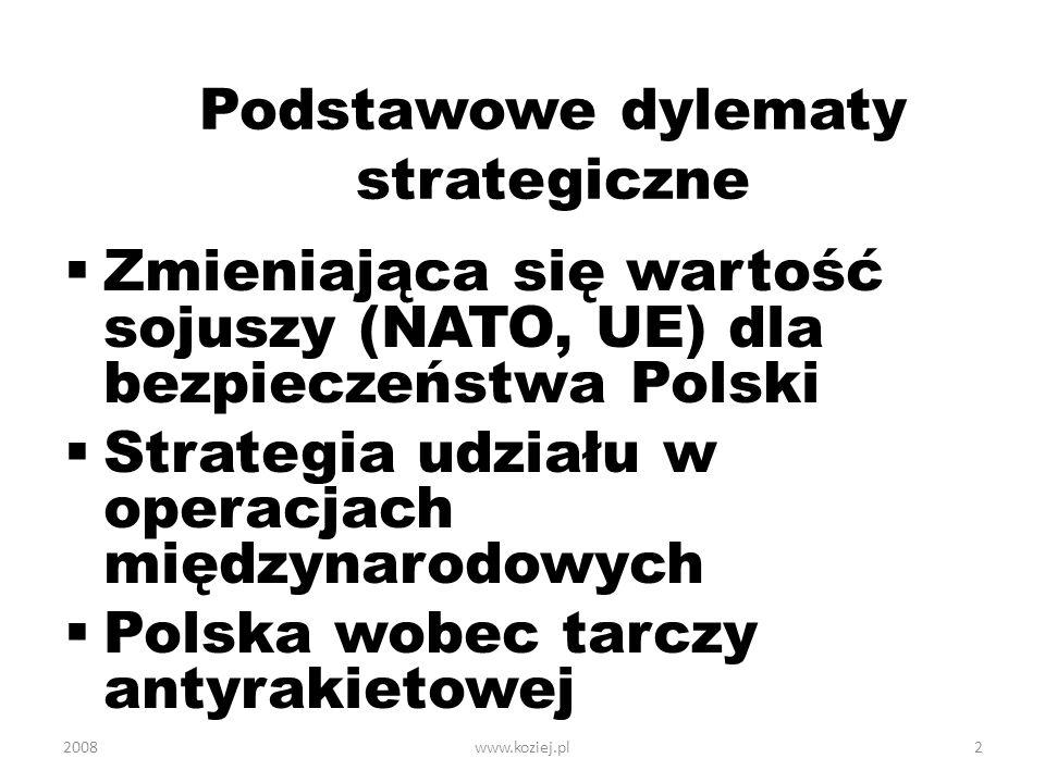 Podstawowe dylematy strategiczne