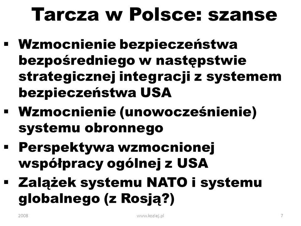 Tarcza w Polsce: szanse