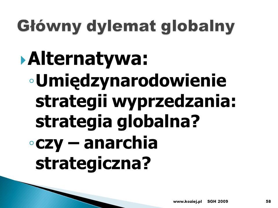 Główny dylemat globalny
