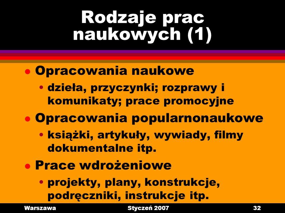 Rodzaje prac naukowych (1)