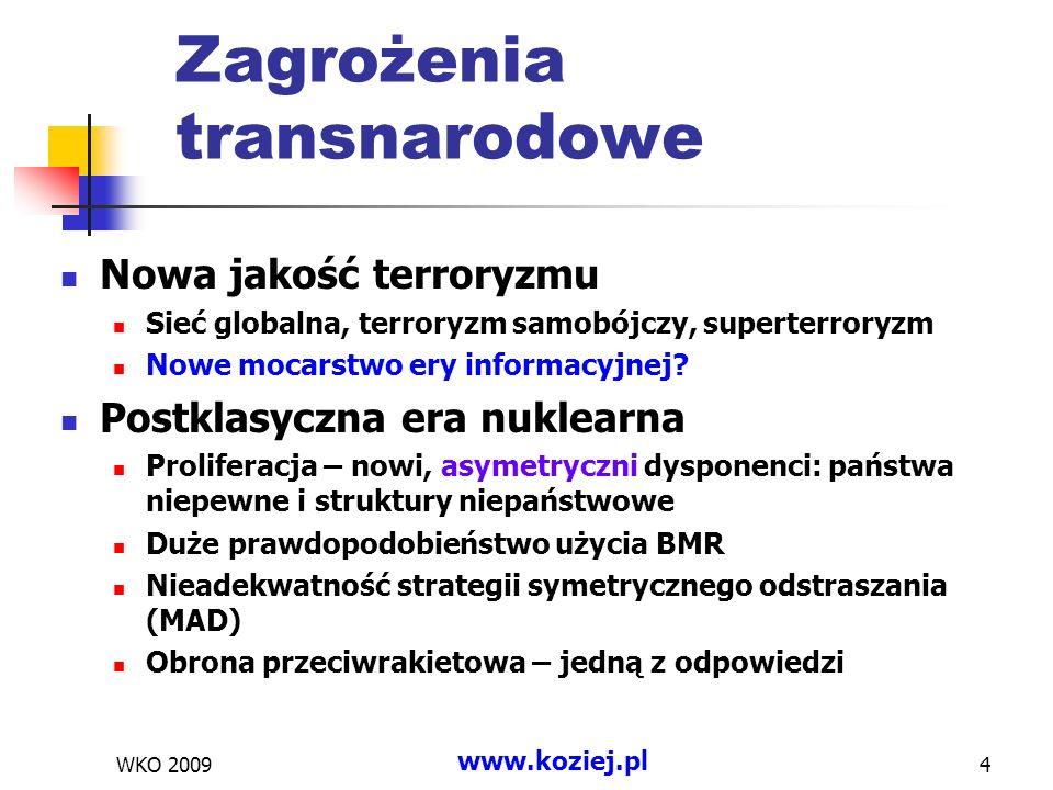 Zagrożenia transnarodowe