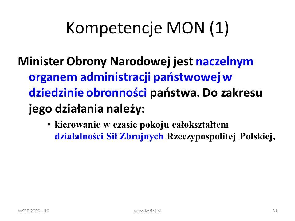 Kompetencje MON (1)