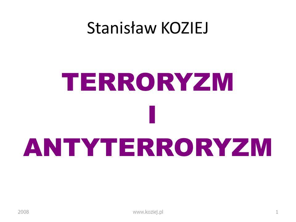 TERRORYZM I ANTYTERRORYZM
