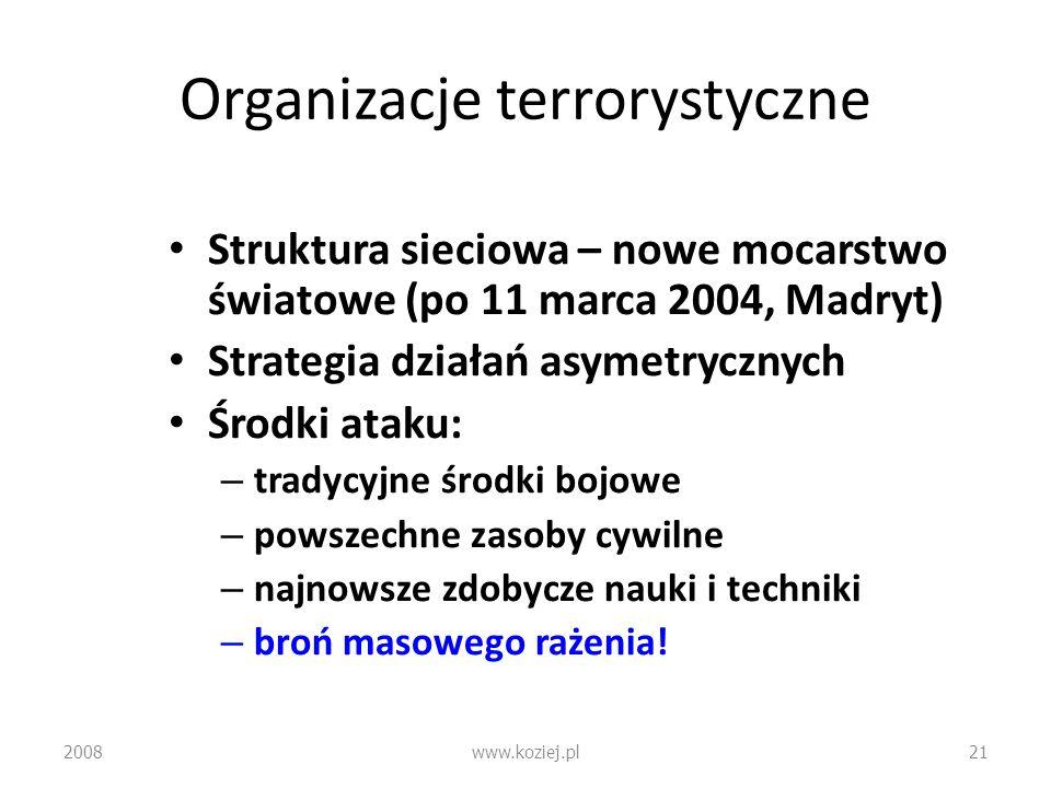 Organizacje terrorystyczne