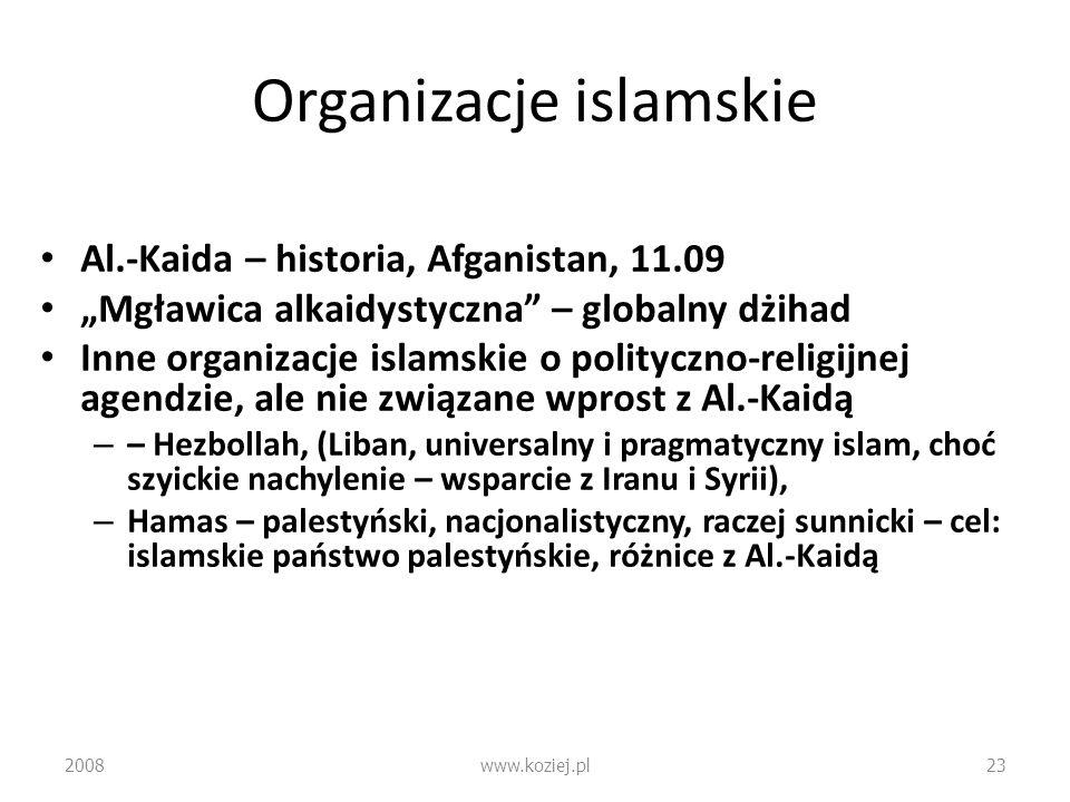 Organizacje islamskie