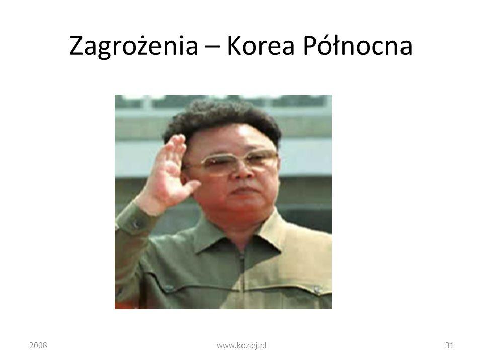 Zagrożenia – Korea Północna