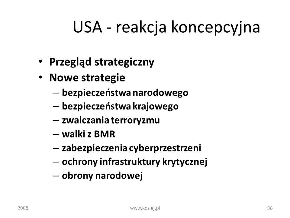 USA - reakcja koncepcyjna