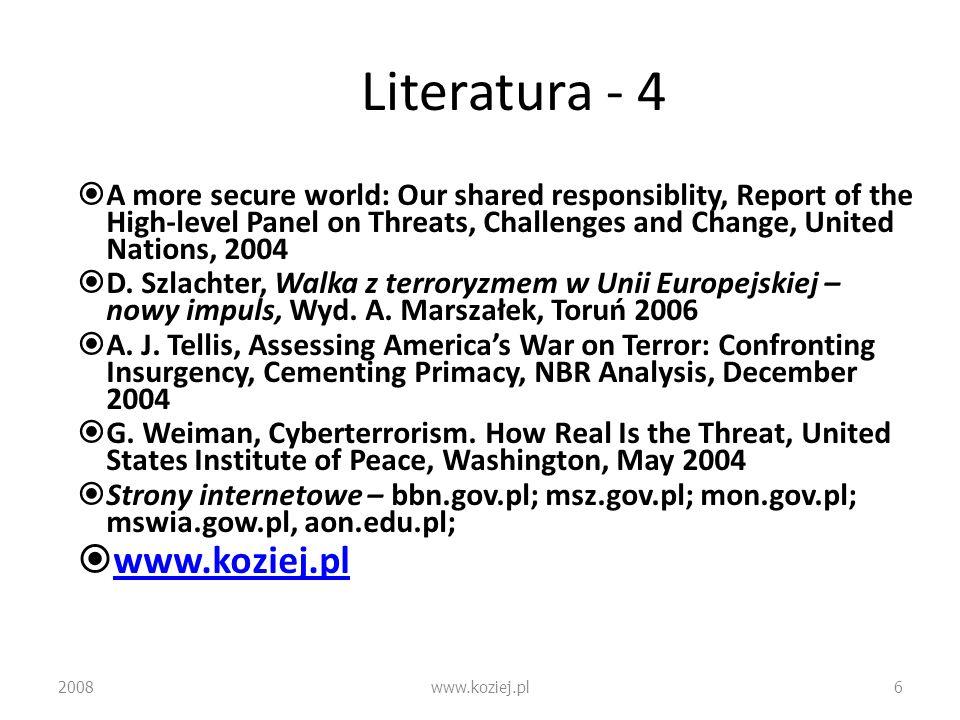 Literatura - 4 www.koziej.pl